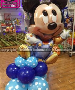 centro tavola palloncini topolino