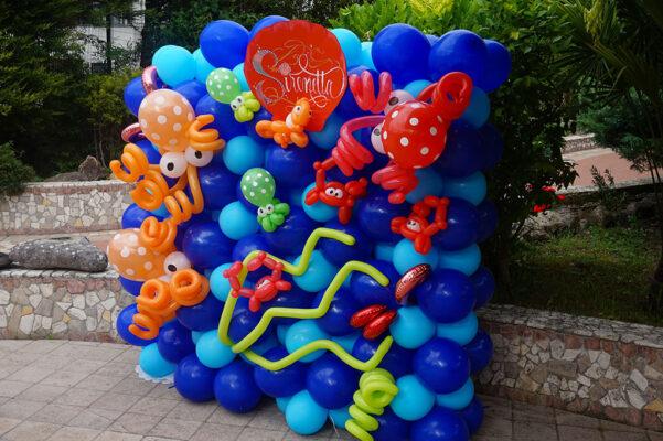 la sirenetta palloncini