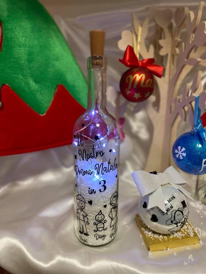 Bottiglia di Natale
