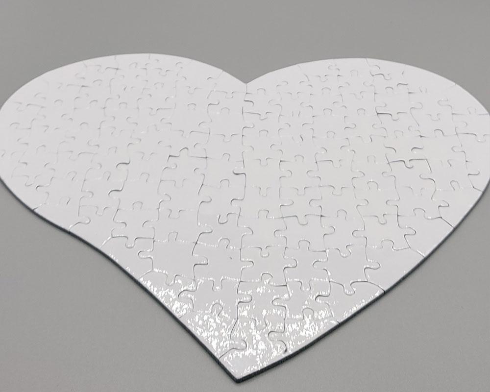 puzzlw a forma di cuore