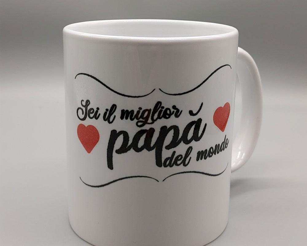 tazza in ceramica da stampare